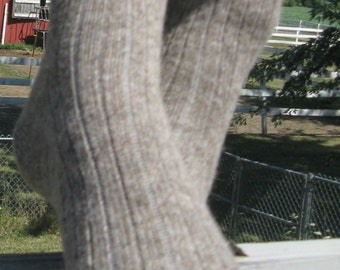 Mens socks, Wool and Alpaca Socks, Grown in Michigan - Extra Large Size - Fathers Day Gift
