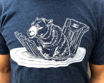 Bear Lee, Afloat (MN) tee