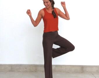 Organic Wide Leg Lounge Pants