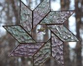 Iridescent Ice  Snowflake