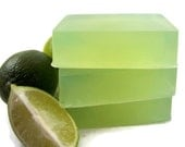 Natural Lime Soap, Essential Oil Lime Bar Soap