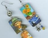 Vincent Van Gogh earrings