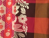 SALE Fat Quarter Bundle Anna Maria Horner Good Folks Festival Zinnia and Dowry Dresden Bulbs cotton fabric from shereesalchemy pink and oran