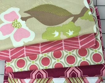 Joel Dewberry Modern Meadow cotton fabric collection FQ bundle shereesalchemy