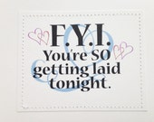 Sexy card. You're so getting laid tonight.