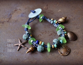 Sea Inspired Knotty Bracelet