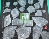 20 resin molds 5 sets to choose from