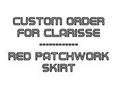 Custom Order for Clarisse