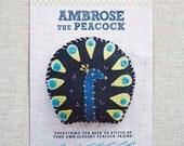 Ambrose the Peacock Stitchin' Kit