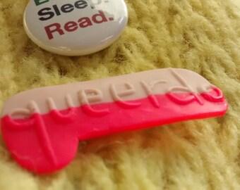 queerdo badge pin