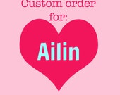 CUSTOM painting for Ailin