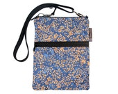 Kindle Case / Kindle Fire Cover / Kindle Touch Bag / Nook Bag / Padded eReader Case / TRAVEL BAG fit WITH Cover- Stellar BLue Fabric