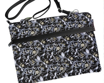 11 inch MacBook Air Sleeve Case / Bag / Shoulder Bag Zipper Padded /FAST SHIPPING/Washable/ Nightengale Fabric