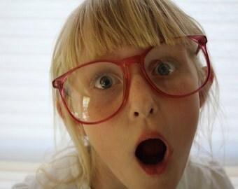 VINTAGE maginifying Eye GLASSES