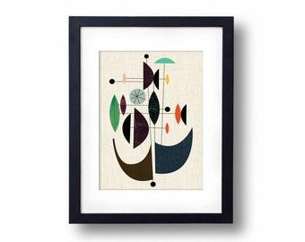 Giclée Print - Oceanic I