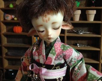 Quilted Cutie Kimono and obi for 1/6th 26cm YOSD BJD