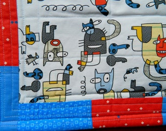 Picasso Cats Quilt Blanket For Mew
