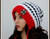 Crochet Hat Pattern - Slouch Hat Pattern - Easy Crochet Pattern - Childs - Adult Small to Med. - Large to XL