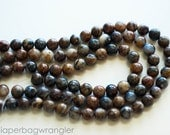 Free Ship Destash - 3 Strand Lot - Petersite Natural Gemstones