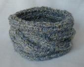 Headband Spring Lavender Green Knit