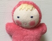 berry Baby, Waldorf  Doll, germandolls, pocket gnome, Waldorf toy, small doll, gift for kids