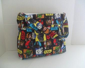 Star Wars Diaper Bag - Diaper Bag - Messenger Bag - Crossbody - Laptop Bag