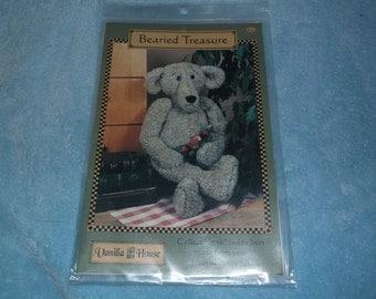 "Bearied Treasure 16"" Teddy Bear sewing pattern"
