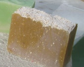 Oatmeal Milk & Honey  Cold Process Soap Large Vegan  5 oz    buy any 3-6 bars 5.50 Shipping