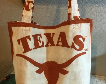 Texas Longhorns Diaper Bag
