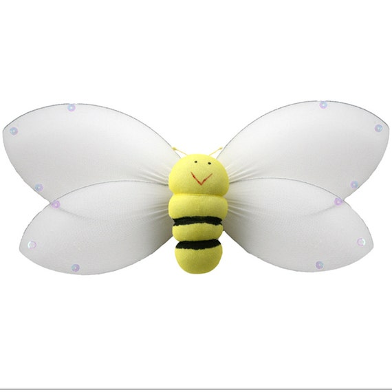 Bumble bee birthday party decorations nylon bumblebees yellow for Bumble bee mural