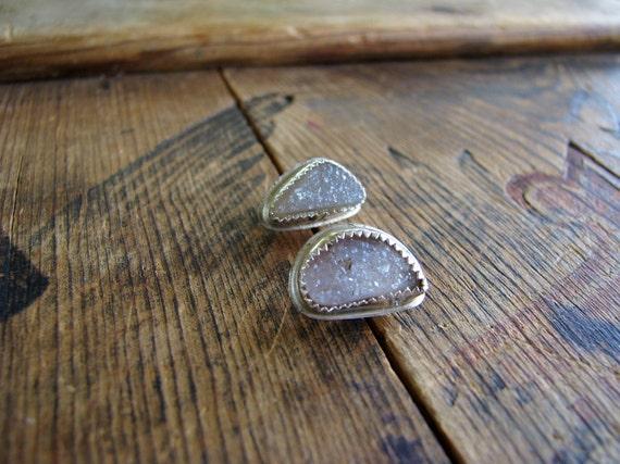 Crystalline- Druzy- Earrings