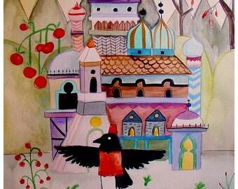 the Crow's House - PRINT