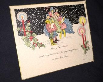 Old Christmas Card