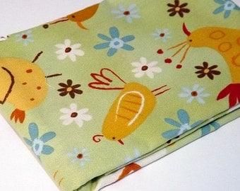 Green Fabric, On a Whim, Robert Kaufman, Amy Schimler, Designer Fabric, Chicken, Avian, Whimsical Fabrics, Quilters, Fun Fabrics for Kids,