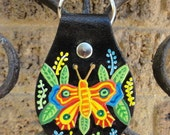Key Fob with Butterfly