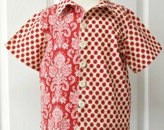 Boys Hipster Shirt -  sizes 2T thru 10