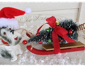 Christmas Decoration Vintage Terrier Christmas Ornament Christmas Decor