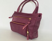 Small willow bag in orchid