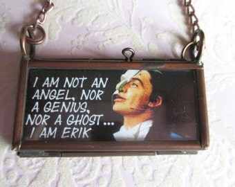 Phantom of the Opera Ramin Karimloo Trbute Pendant