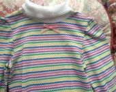 80s Rainbow Shirt 18/24 Months