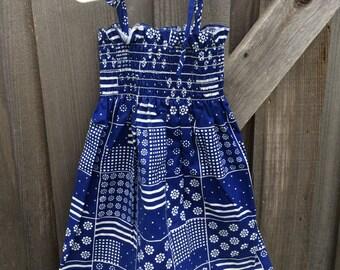 70s Sun Dress 4/5T