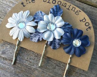 Flower Bobby Pins