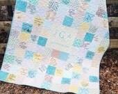 Custom wedding quilt for Ashley