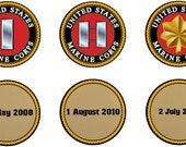 7 Custom Marine Challenge Coins for lauriemarie26
