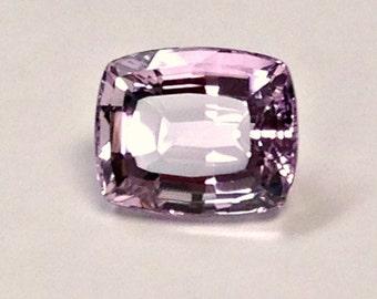 VINTAGE KUNZITE Spodumene Faceted Gemstone Antique cut 19.15 cts FG201
