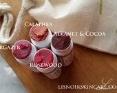 SALE Choose Three//Oxide Free//Plant Based//Lip Tint Gift Set Organic Lis Noir Skincare