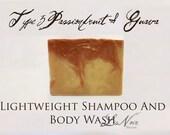 Organic Shampoo Bar For Oily Fine Thin Hair Passionfruit Guava