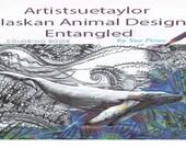 adult coloring book Alaskan Animal Zentangle designs