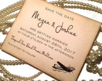 Save the Date Postcards, Vintage Save the Date, Destination Save the Date, Modern Save the Date, Custom Save the Date