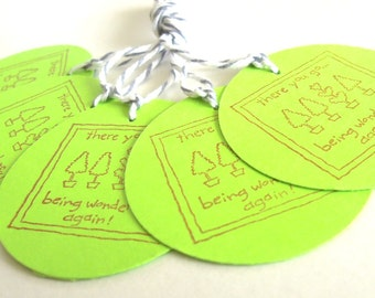 Wonderful Gift Tags - Set of 5 Tags